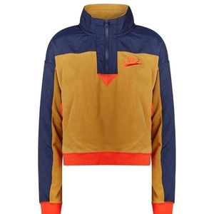 NWT Nike 90s Style Pullover Jacket Top